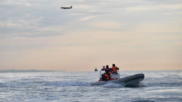 Поисково-спасательная операция на месте крушения самолета Ту-154 - Sputnik Армения