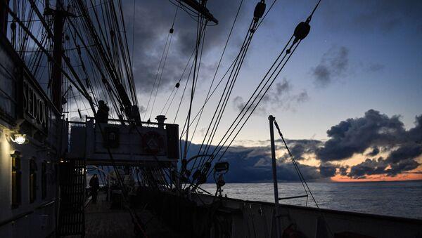 Экспедиция учебного парусного судна Седов по маршруту Северного пути  - Sputnik Армения