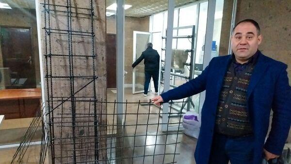 Сократ Григорян, коммерческий директор завода базальтового волокна ArmBas - Sputnik Արմենիա
