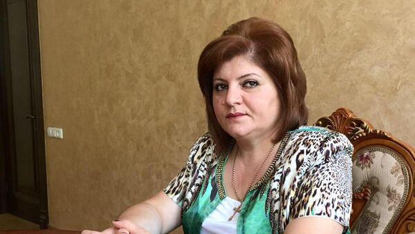 Глава общины Караундж Лусине Аветян - Sputnik Արմենիա