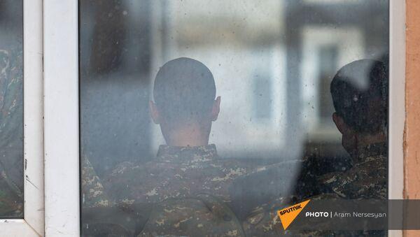 Будни артиллерийского полка, защищающего Карвачар в дни войны (17 декабря 2020). Варденис - Sputnik Արմենիա