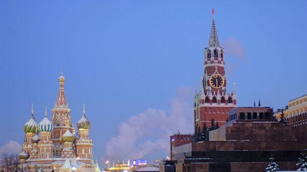 Красная площадь в сумерках, архивное фото - Sputnik Армения