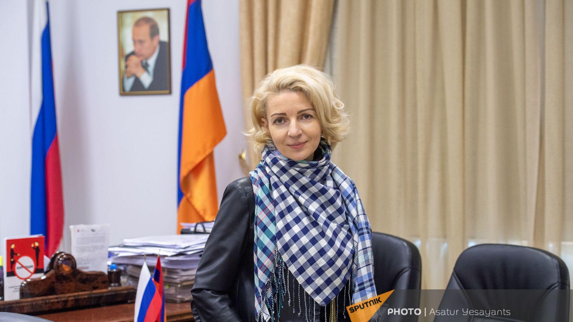 Торговый представитель Российской Федерации в Армении Анна Донченко - Sputnik Армения, 1920, 14.10.2021
