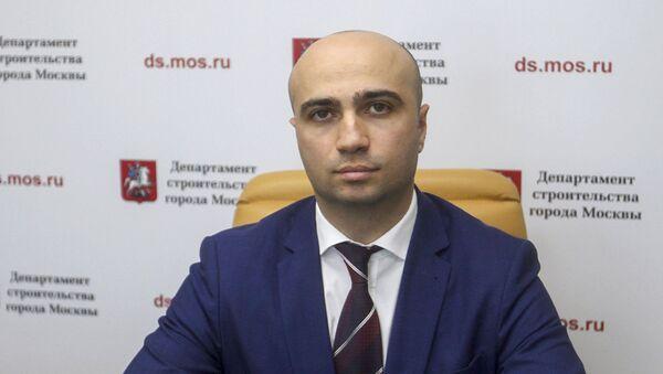 Заместитель руководителя Департамента строительства города Москвы Карен Оганесян - Sputnik Արմենիա
