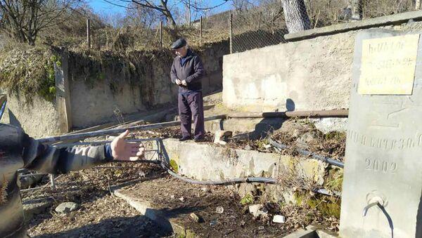 Источник у поселка  Джуджеван в Ноемберяне - Sputnik Արմենիա