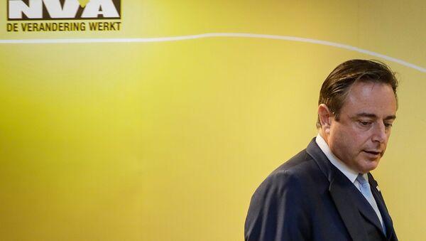 Барт Де Вевер во время пресс-конференции N-VA (8 декабря 2018). Брюссель - Sputnik Արմենիա