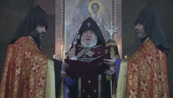 Ամենայն Հայոց Կաթողիկոսի խոսքը գերեվարվածների և անհայտ կորածների համար աղոթքի արարողության ընթացքին - Sputnik Արմենիա