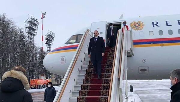 Премьер-министр Никол Пашинян с рабочим визитом прибыл в Москву (11 января). Москва - Sputnik Армения