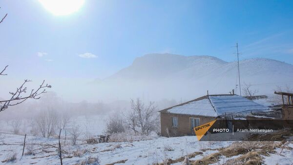 Село Тигранашен (11 января 2021). Араратская область - Sputnik Армения