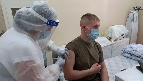 В российской военной базе ЮВО в Армении приступили к вакцинации против новой коронавирусной инфекции - Sputnik Արմենիա
