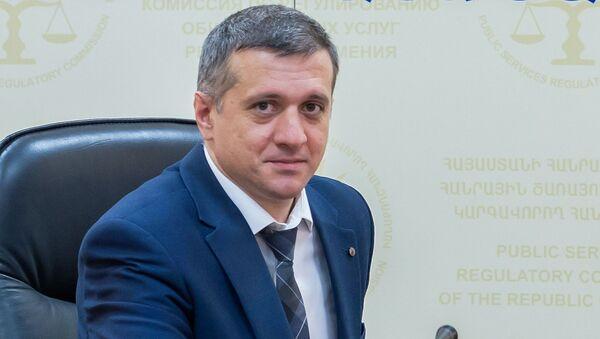 Начальник  управления по тарифной политике в КРОУ Армении Ашот Улиханян - Sputnik Արմենիա