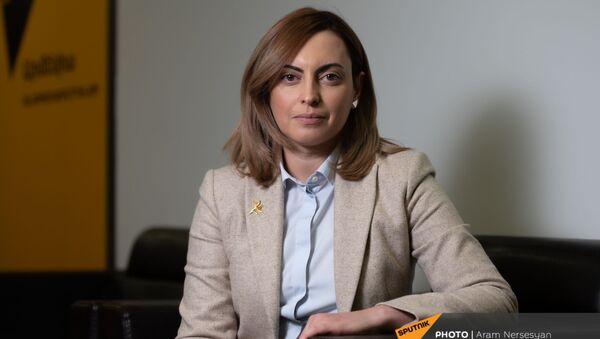 Вицеспикер НС Лена Назарян в гостях у Sputnik Армения (15 января 2021). Еревaн - Sputnik Армения