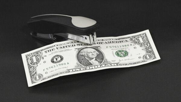 Купюра достоинством в 1 доллар США. - Sputnik Армения