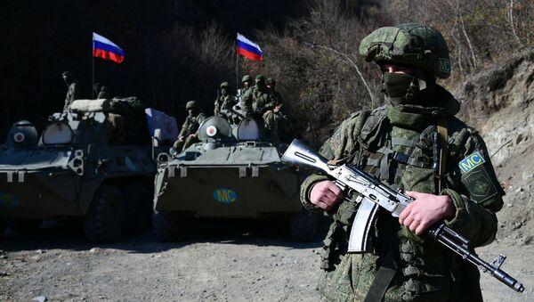Российские миротворцы в Нагорном Карабахе - Sputnik Армения