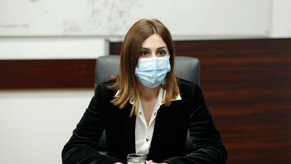 Премьер-министр Никол Пашинян представил нового министра здравоохранения сотрудникам министерства (19 января 2021). Еревaн - Sputnik Армения
