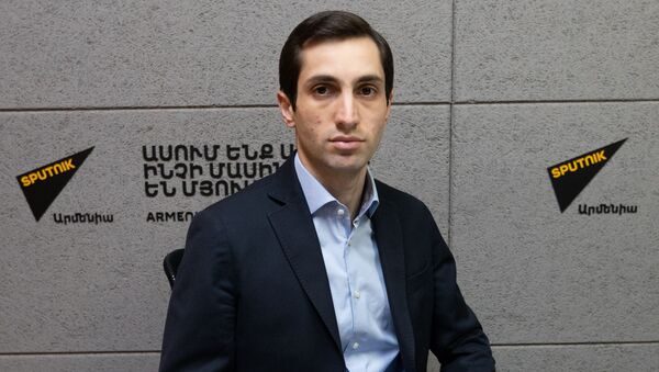 Давид Хажакян в гостях радио Sputnik - Sputnik Արմենիա