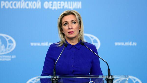 Официальный представитель Министерства иностранных дел России Мария Захарова - Sputnik Армения