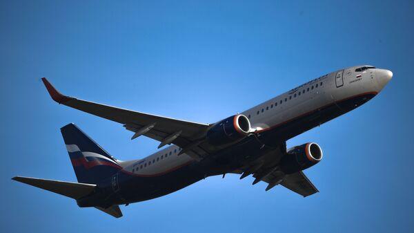 Взлет самолета Boeing737 авиакомпании Аэрофлот из аэропорта Шереметьево - Sputnik Армения