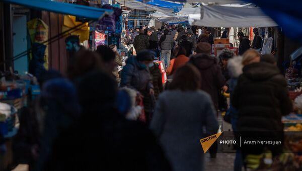 Лачинский рынок в Ванадзоре - Sputnik Արմենիա