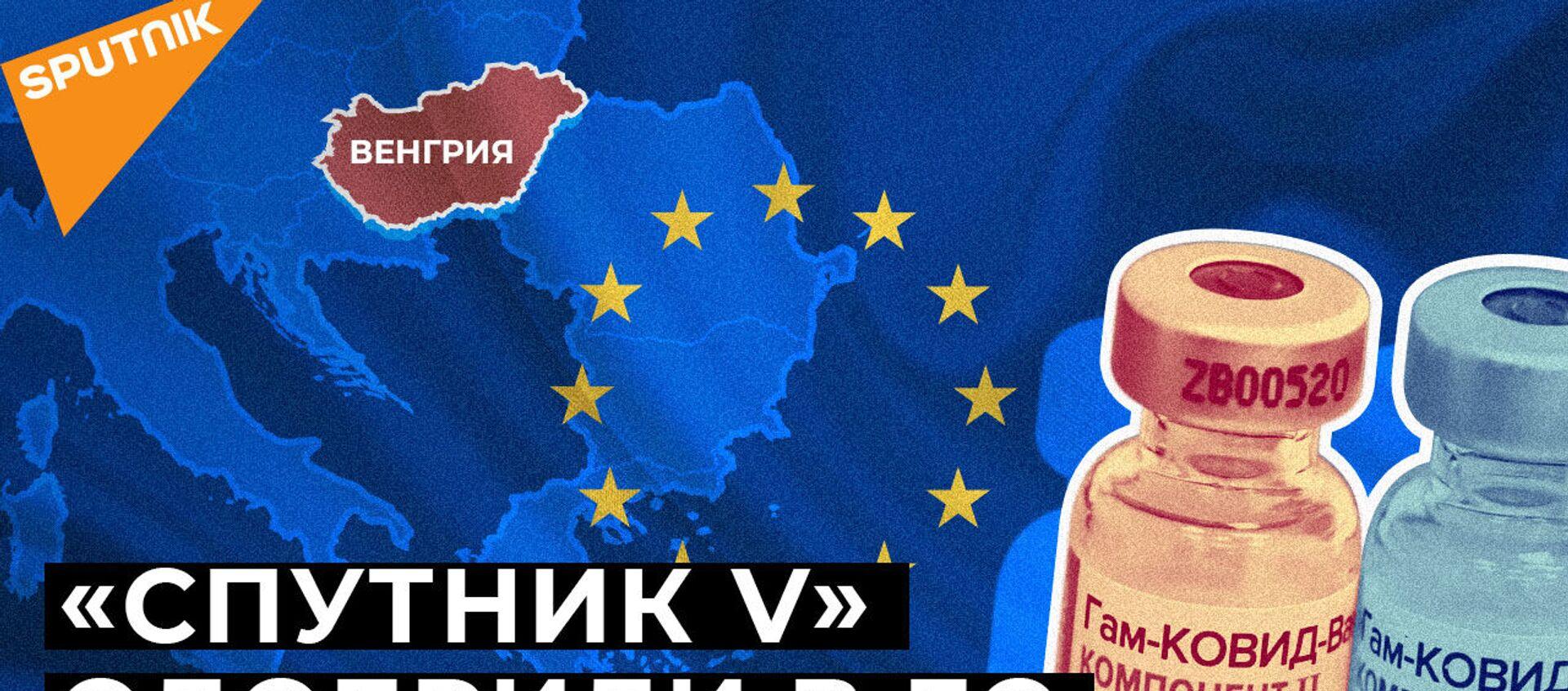 В Венгрию поставят 2 миллиона доз вакцины Спутник V - Sputnik Армения, 1920, 23.01.2021