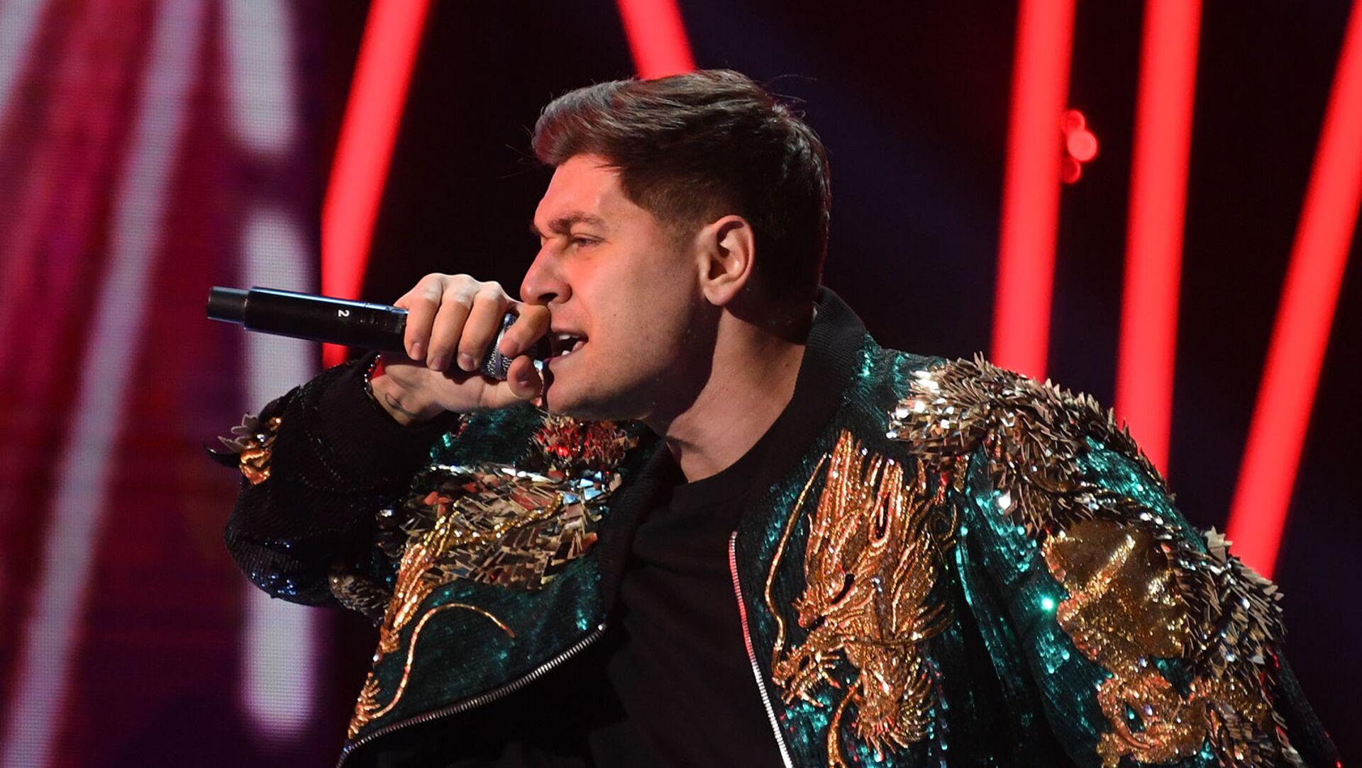 Давид Манукян (Dava) на концерте Песня года - 2020 (5 декабря 2020). Москвa - Sputnik Армения, 1920, 24.03.2021