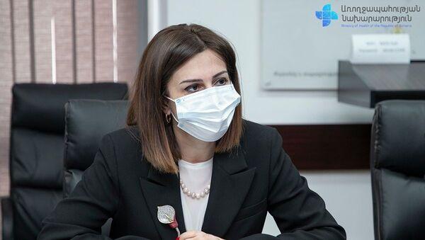 Министр здравоохранения Анаит Аванесян - Sputnik Армения