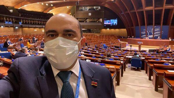 Эдмон Марукян после пленарного заседания Парламентской ассамблеи Совета Европы (25 января 2021). Марсель - Sputnik Армения