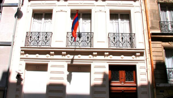 Здание посольства Армении во Франции - Sputnik Արմենիա