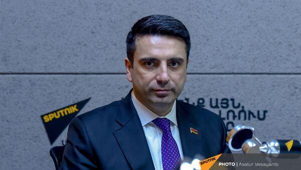 Вице-спикер НС Ален Симонян в гостях у радио Sputnik - Sputnik Արմենիա
