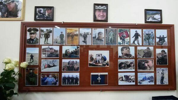Одна из аудиторий исторического факультета ЕГУ, названная именем подполковника Ваагна Тумасяна - Sputnik Արմենիա