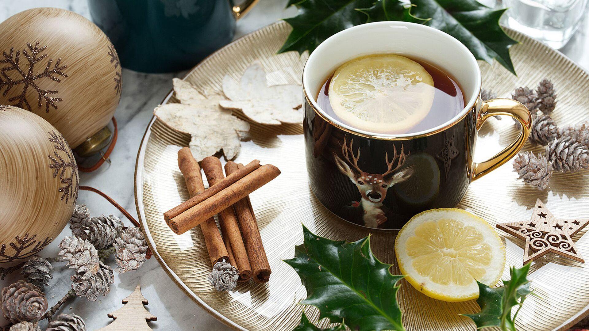 Чай с лимоном - Sputnik Армения, 1920, 19.09.2021