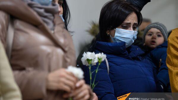 Открытие памятных досок военным врачам в ЕрГМУ (28 января 2021). Еревaн - Sputnik Армения