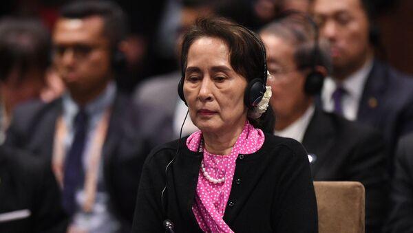 Государственный советник Мьянмы Аун Сан Су Чжи - Sputnik Արմենիա