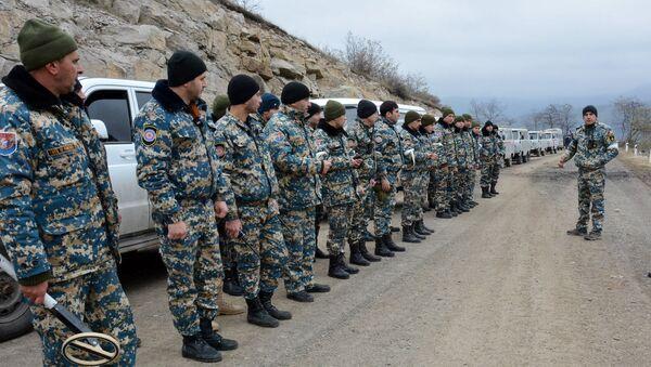 Поисково-спасательые работы в районе Гадрута (1 февраля 2021). Карабах - Sputnik Արմենիա