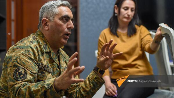 Арцрун Ованнисян беседует с корреспондентами Sputnik Армения - Sputnik Армения