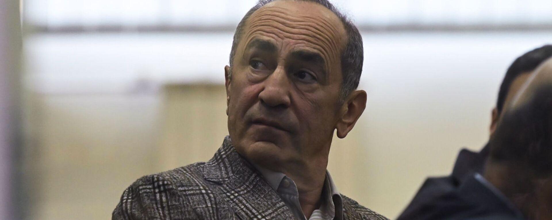 Роберт Кочарян в зале Шенгавитского суда (2 февраля 2021). Еревaн - Sputnik Армения, 1920, 28.09.2021