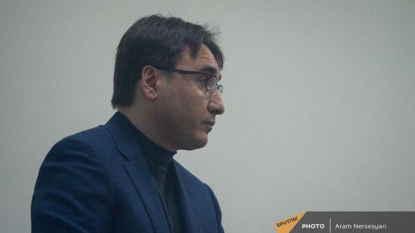 Бывший вице-премьер Армен Геворкян в зале Шенгавитского суда (2 февраля 2021). Еревaн - Sputnik Армения