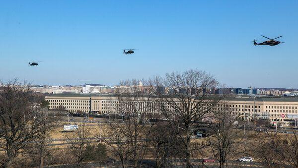 Пентагон в Арлингтоне (округ Виргиния). - Sputnik Армения
