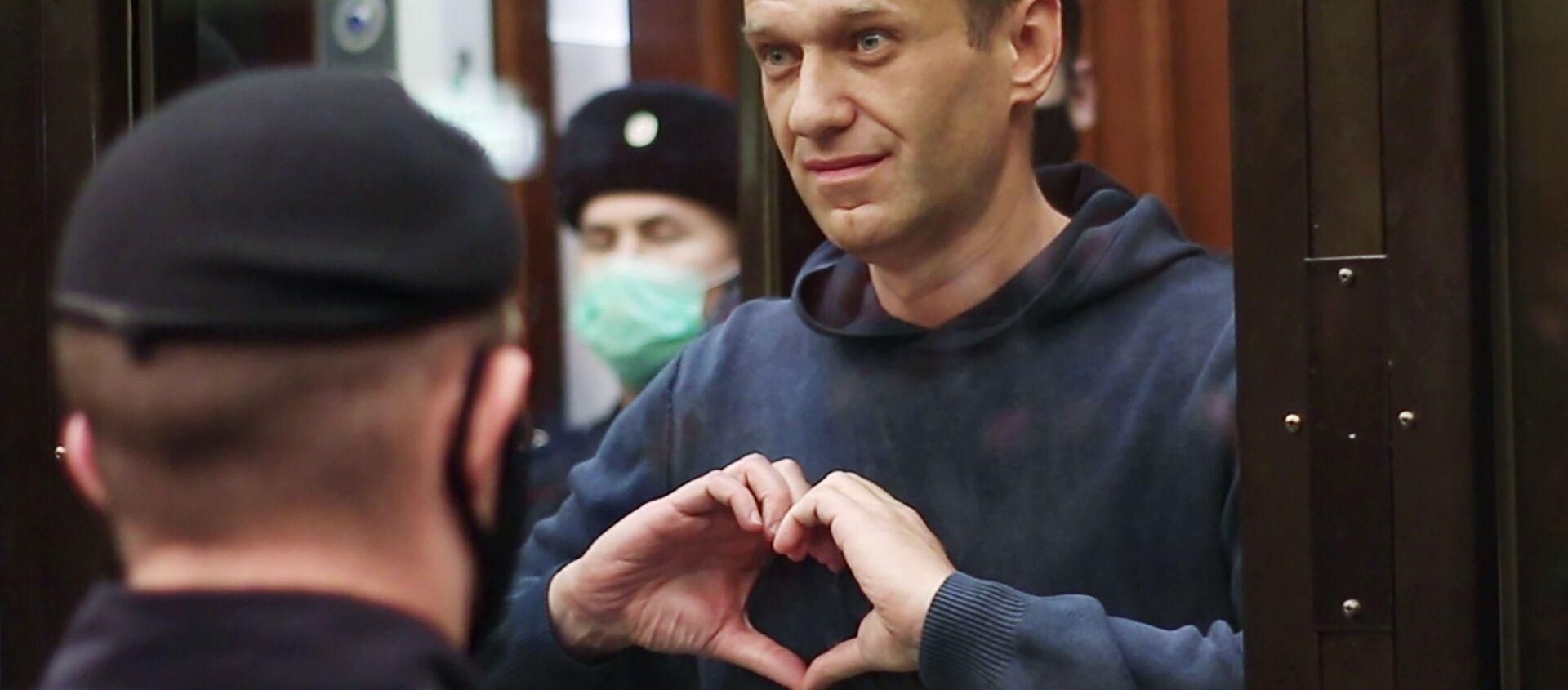 Заседание суда по делу А. Навального - Sputnik Армения, 1920, 22.02.2021