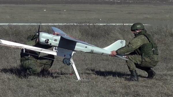 Применение БЛА российскими миротворцами в Нагорном Карабахе - Sputnik Армения