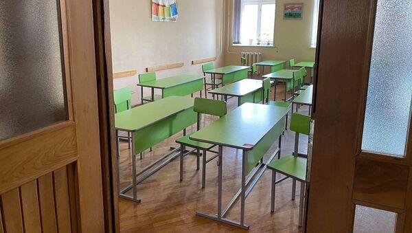 Один из классов школы N25 города Гюмри - Sputnik Արմենիա