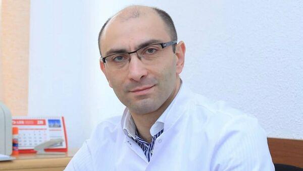 Заместитель директора Национального онкологического центра им. Фанарджяна, онколог Артур Аветисян - Sputnik Արմենիա