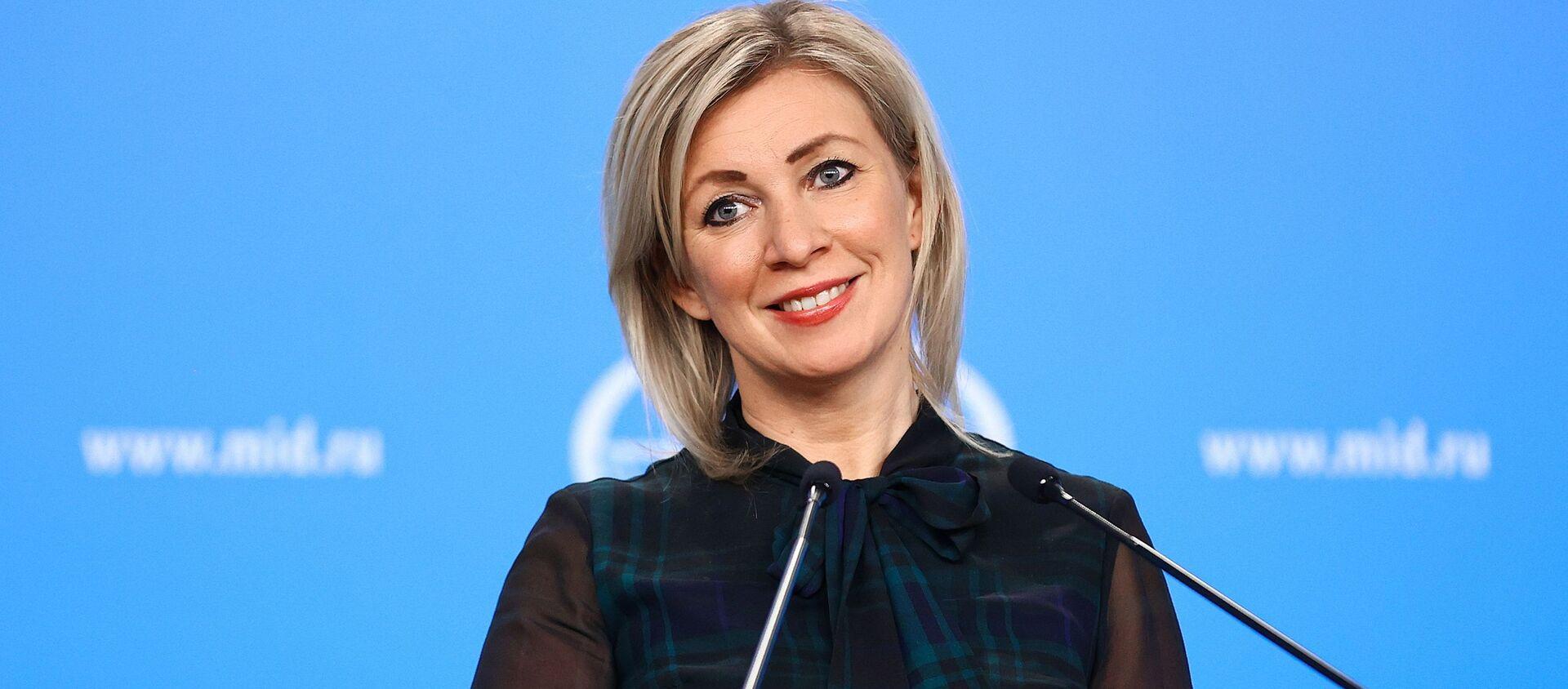 Официальный представитель Министерства иностранных дел России Мария Захарова - Sputnik Արմենիա, 1920, 21.05.2021
