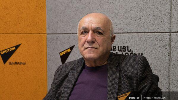 Археолог Гамлет Петросян в фостях у радио Sputnik - Sputnik Արմենիա