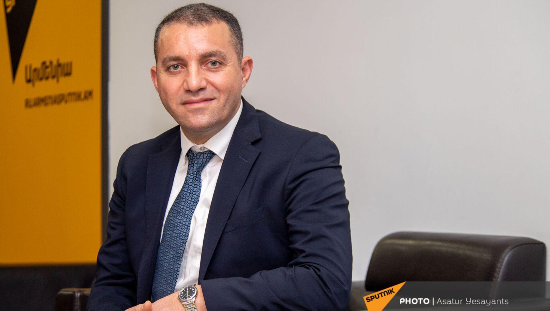 Министр экономики Ваан Керобян в гостях радио Sputnik - Sputnik Արմենիա, 1920, 22.06.2021