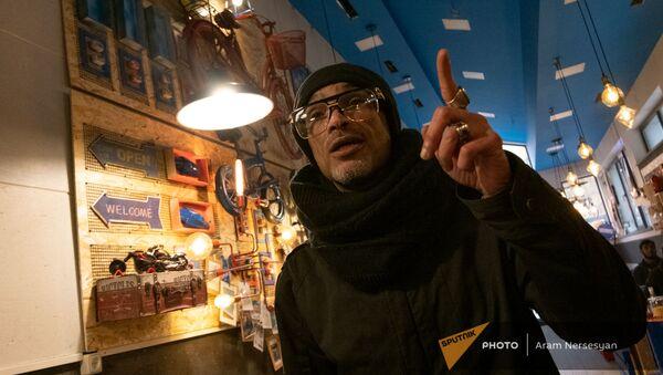 Египтянин Шеф Амин в еревaнском The Egyptians Cafe - Sputnik Արմենիա