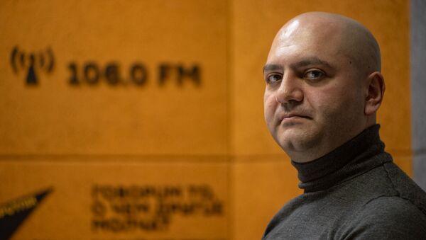 Геворг Эмин-Терян в гостях радио Sputnik - Sputnik Արմենիա