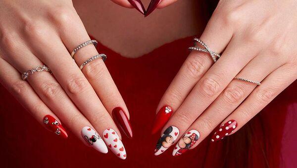 День святого Валентина. Идеи праздничного маникюра - Sputnik Армения