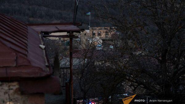 Вид на азербайджанский пост в селе Шурнух, Сюник - Sputnik Արմենիա