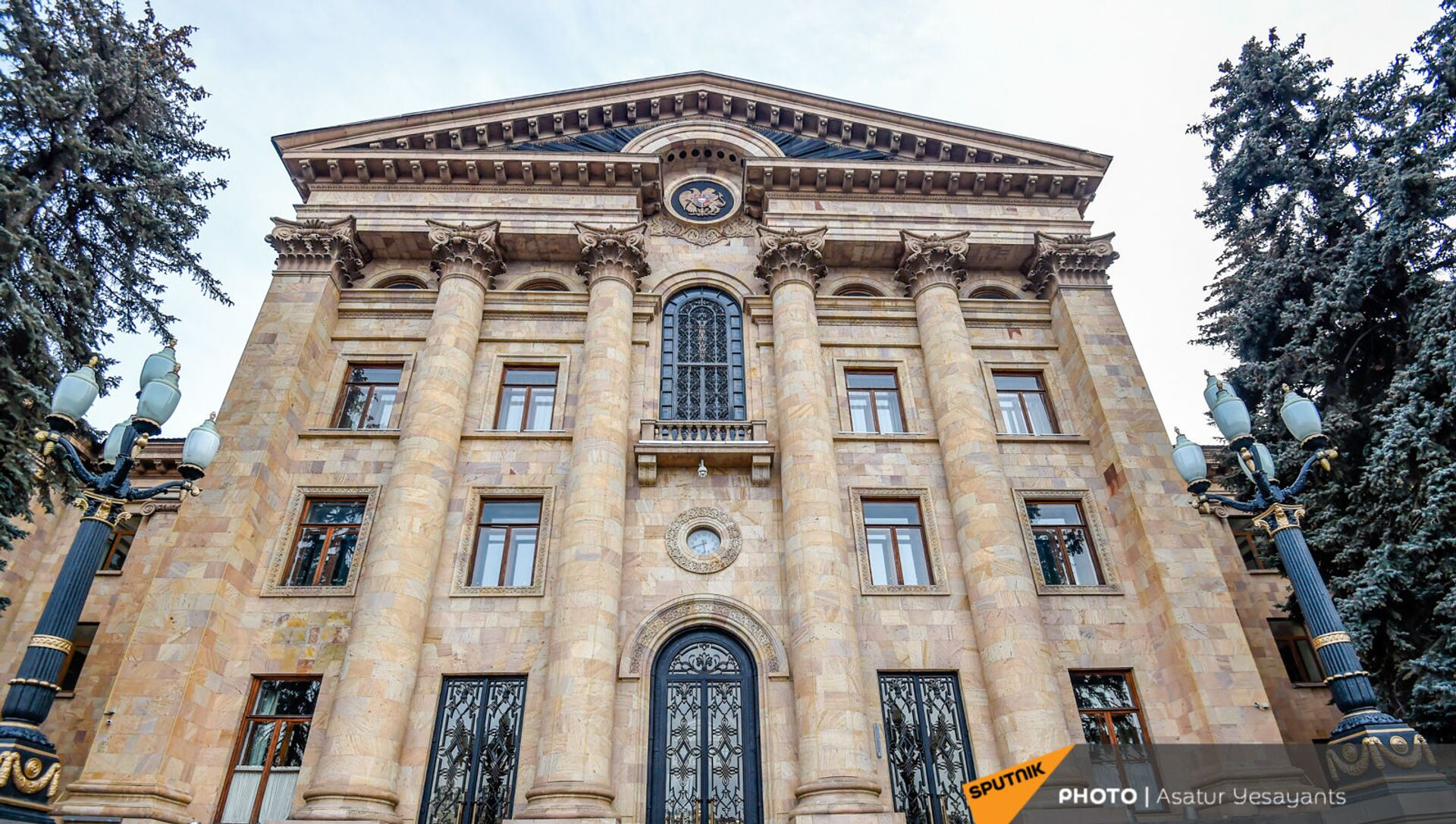 Здание Национального Собрания Армении - Sputnik Армения, 1920, 03.08.2021